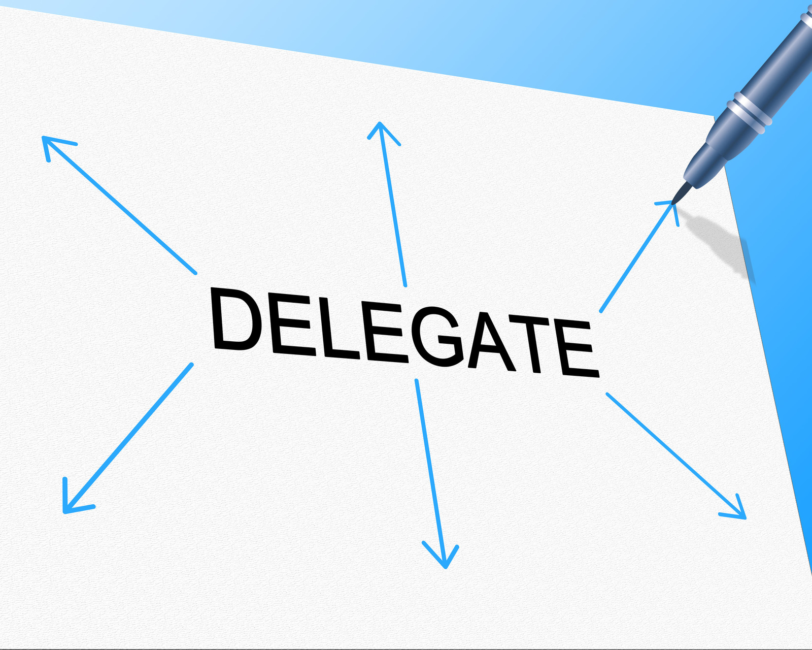 delegating tasks is ensuring everyone in the team wins