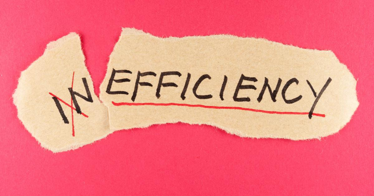 bottlenecks inefficiency