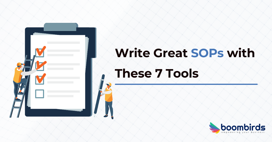 write great SOPs